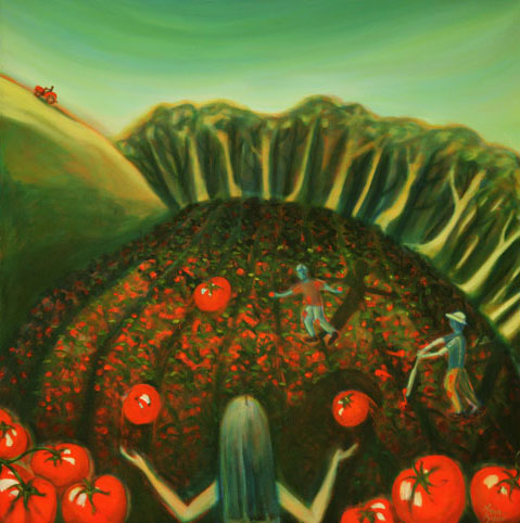 Finale to Tomato Season by Anna Glynn