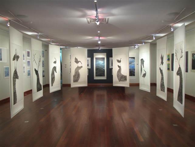 Parallel Dreams exhibition at Shoalhaven City Arts Centre Australia 2010