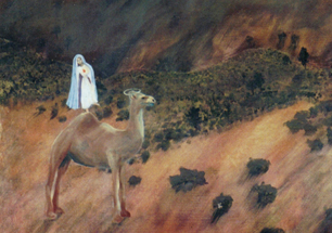 Anna Glynn Outback Hallucinating Catholic detail