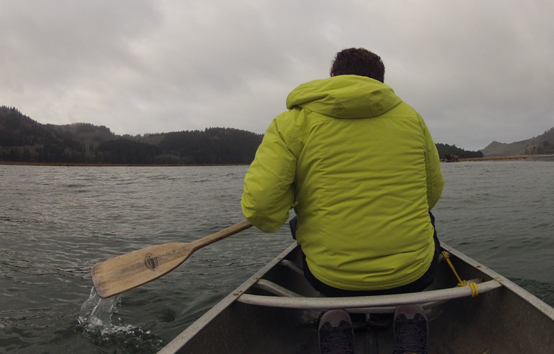 Peter Dalmazzo on the Salmon River Estuary