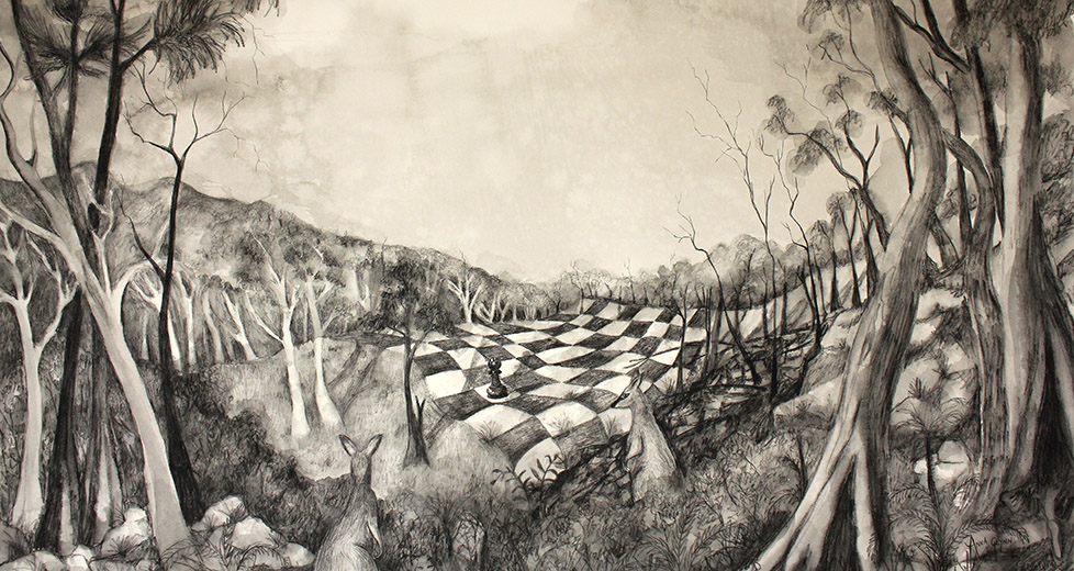 Anna Glynn Finalist 2020 Adelaide Perry Prize for Drawing